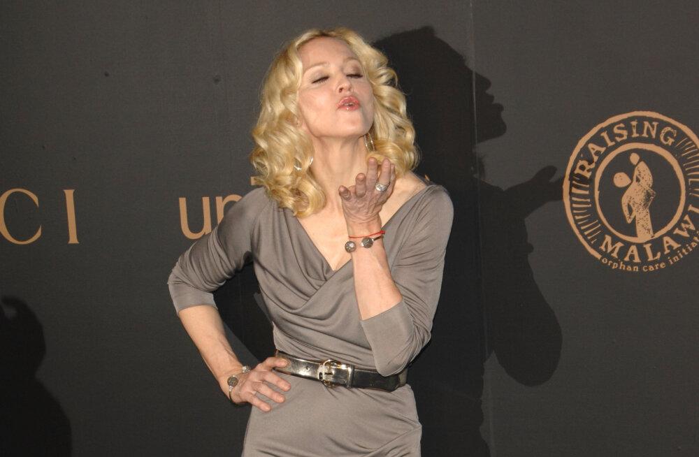 Kuumad pildid tulid avalikuks: Popkuninganna Madonna töötas 20-aastaselt aktimodellina