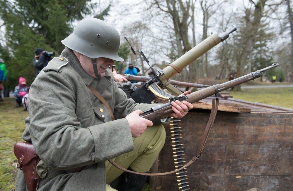 22. veebruari 1919.a. lahingu rekonstruktsioon