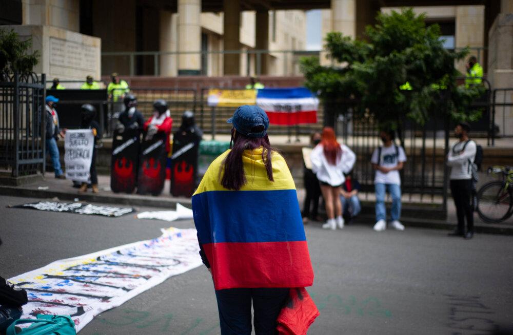 Протесты в Колумбии