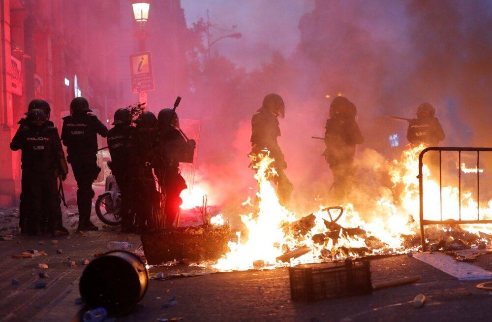 Kataloonia rahutused.
