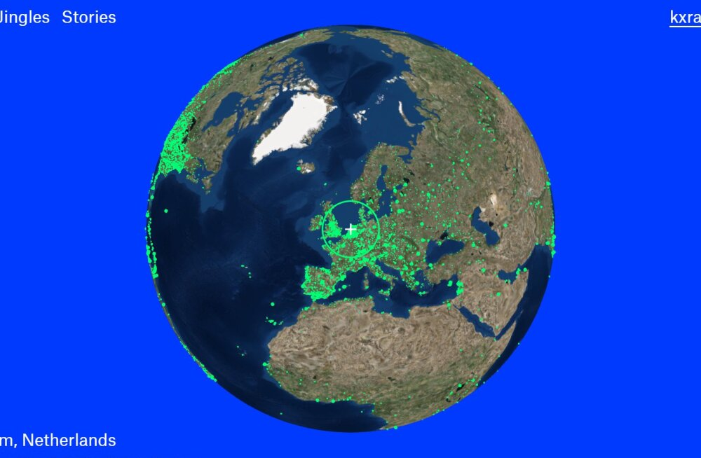 Mõnus seiklus raadiolaineil: Radio Garden lubab hõlpsalt ükskõik millise maailma nurga jaamu kuulata