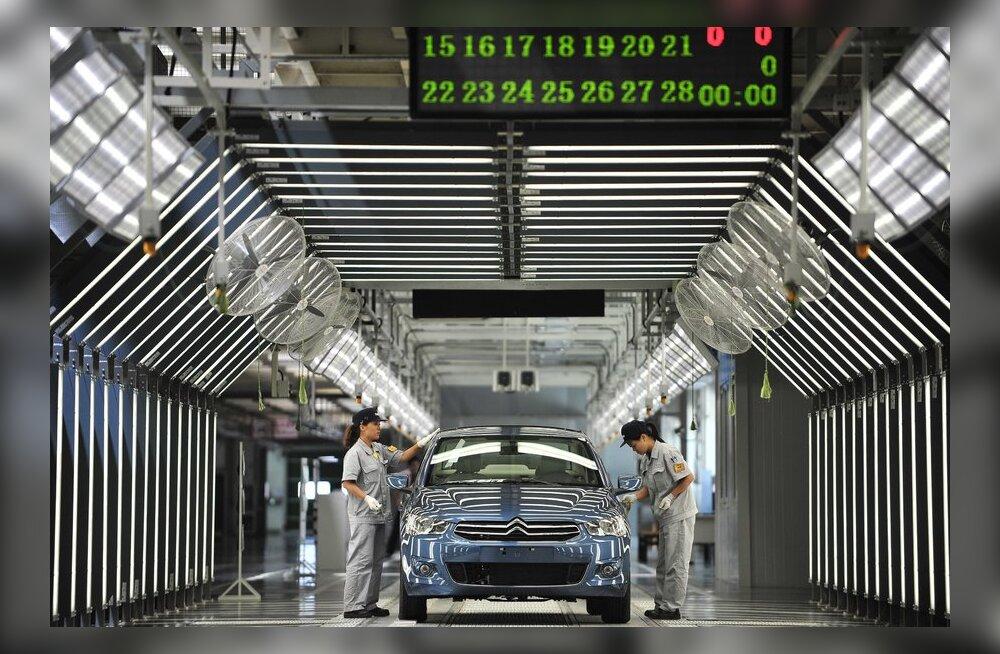 Kolmandik Peugeot-Citroeni kontsernist läheb hiinlastele?