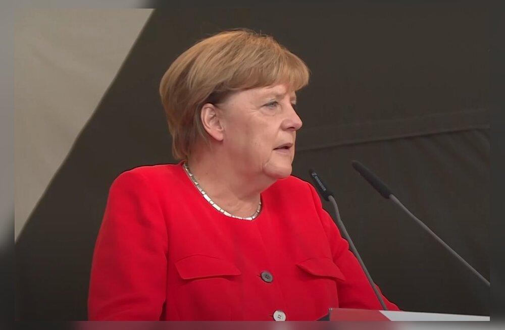 """Меркель настаивает на завершении строительства """"Северного потока - 2"""""""