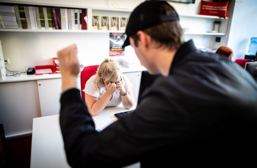 Fotolavastus klienditeenindaja ahistamisest