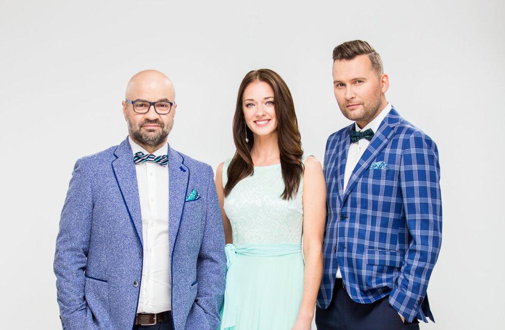 """ASI SELGE! """"Eesti otsib superstaari"""" kohtunikud on Mihkel Raud, Eda-Ines Etti ja Koit Toome"""