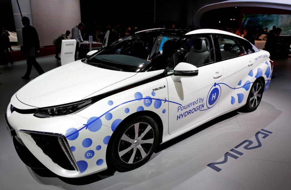 Toyota kutsub oma vesinikuautod tagasi