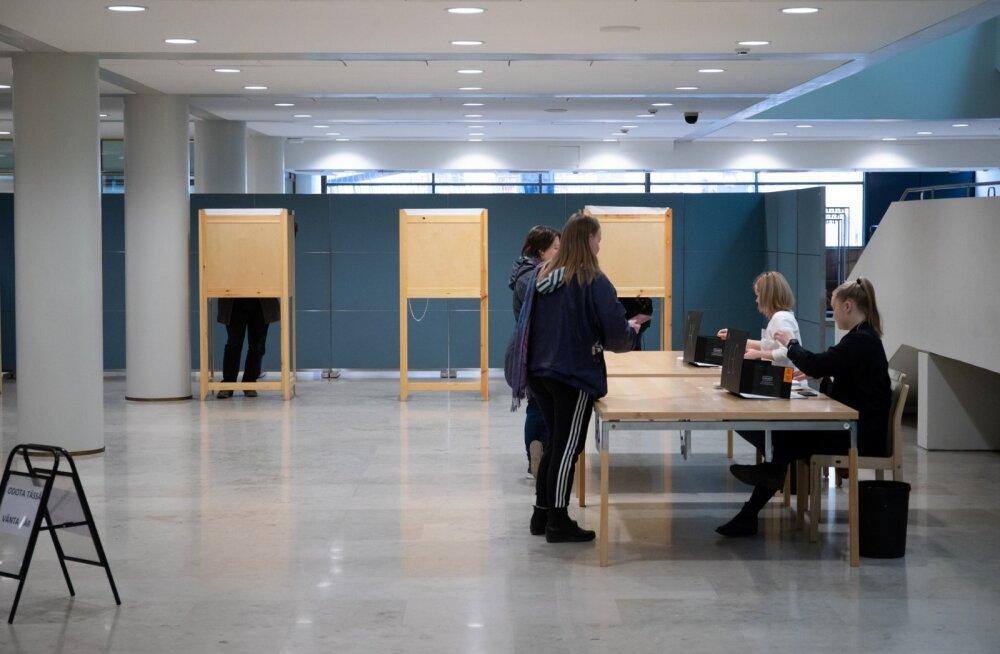 Soome parlamendi valimised.