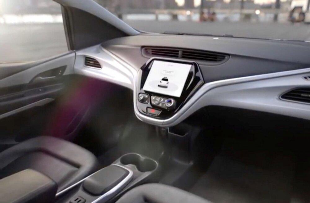 GM esitles täna uut rooli ja pedaalideta autot, millele soovitakse erikohtlemist
