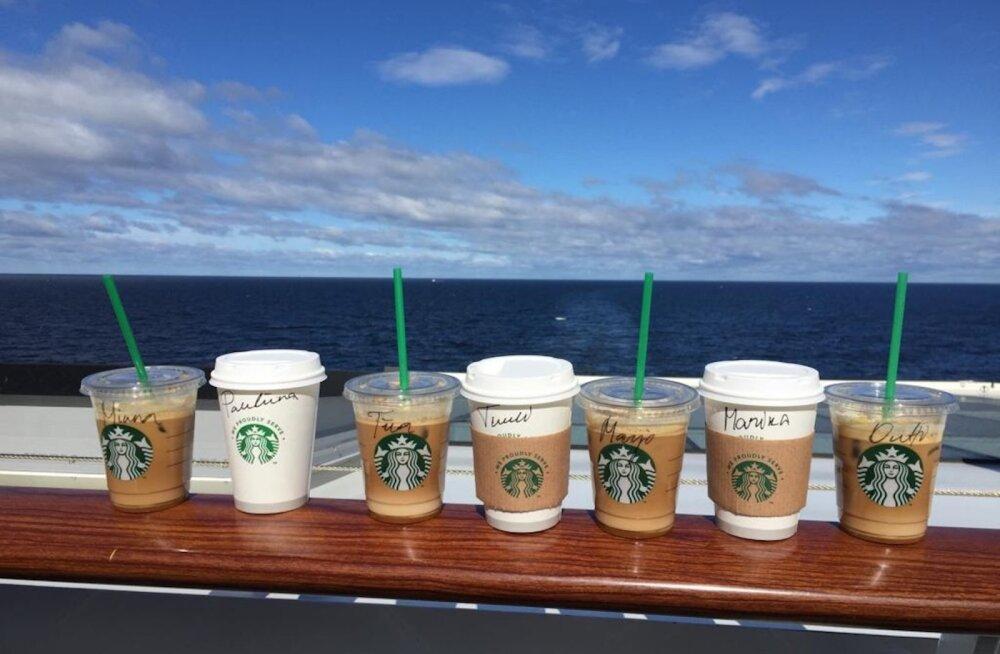 Maailmakuulsat Starbucksi kohvi pakutakse nüüd kõikidel Tallinki reisilaevadel