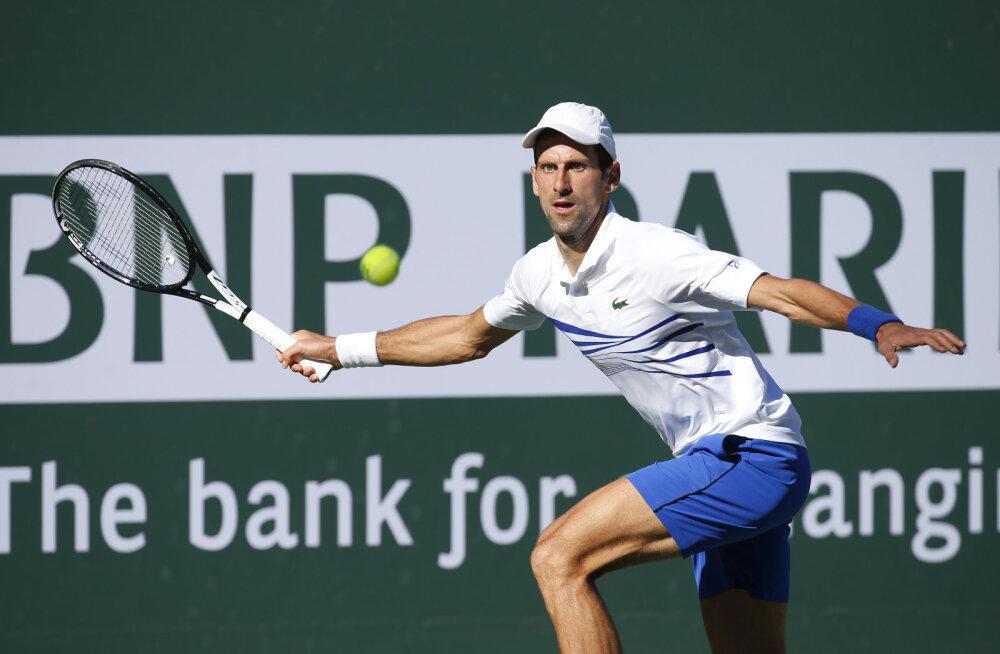 Nadal ja Federer jõudsid Indian Wellsil neljandasse ringi, Djokovic sai üllatuskaotuse