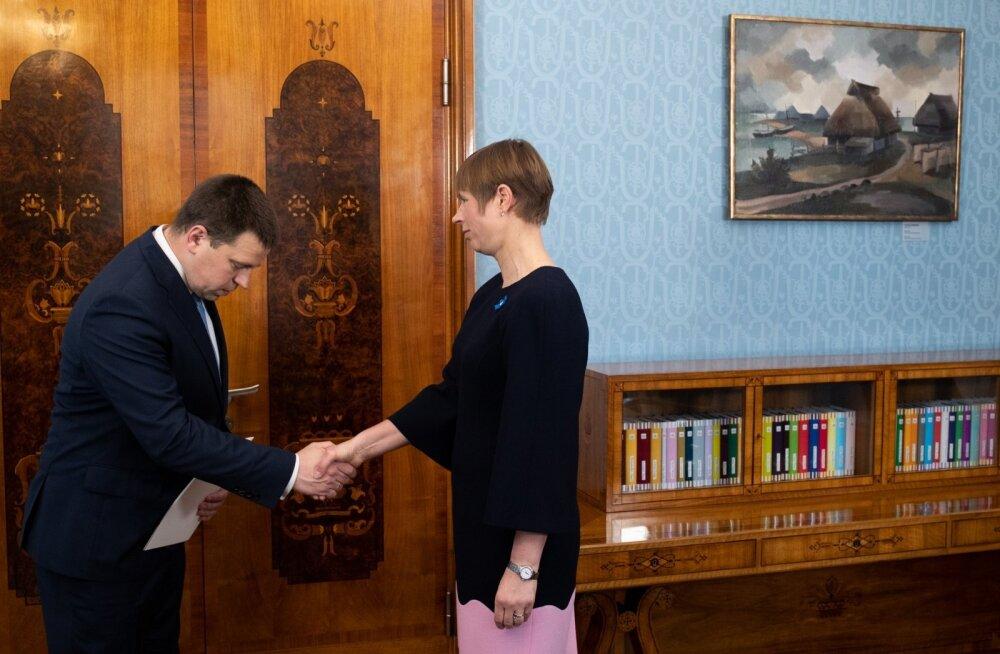Peaminister esitas presidendile Marti Kuusiku tagasiastumise palve
