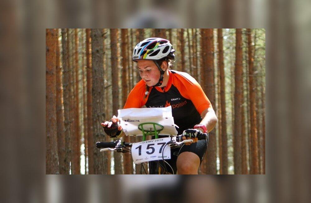 Rattaorienteerumise EM-il pikal rajal sai Mari Linnus 15. koha