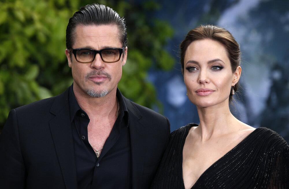 Brad Pitt ja Angelina Jolie elu karantiinis: kõik on parem kui kunagi varem