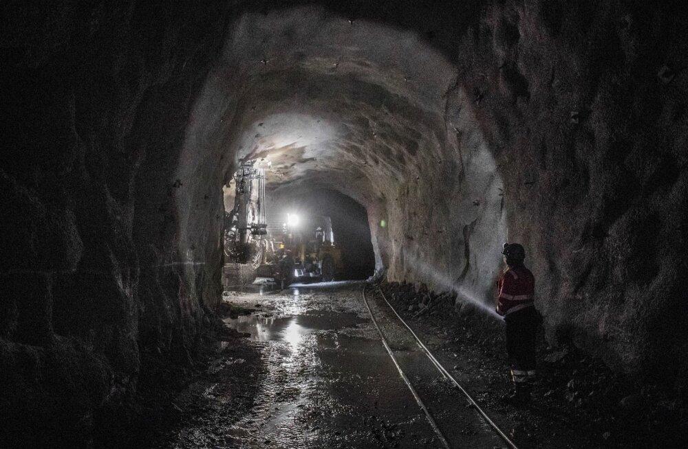 Kaevandus. Foto on illustratiivne