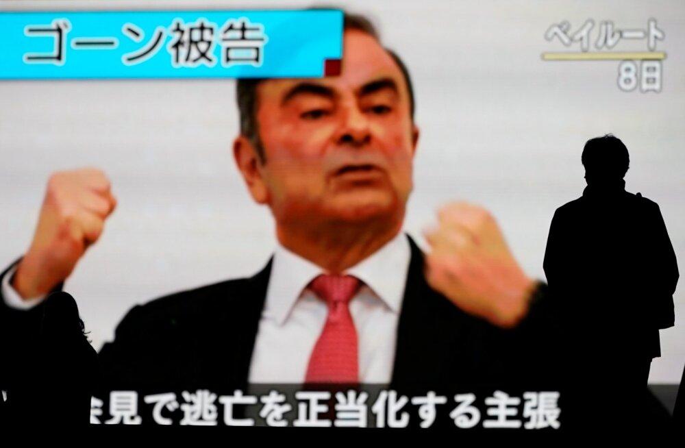 """Ghosn ütles läinud kolmapäeval Liibanonis Beirutis pressikonverentsil, et ta ei soovi Jaapani """"õigusmõistmisega"""" rohkem kokku puutuda. Pressikonverentsi kanti ka Jaapanis üle."""