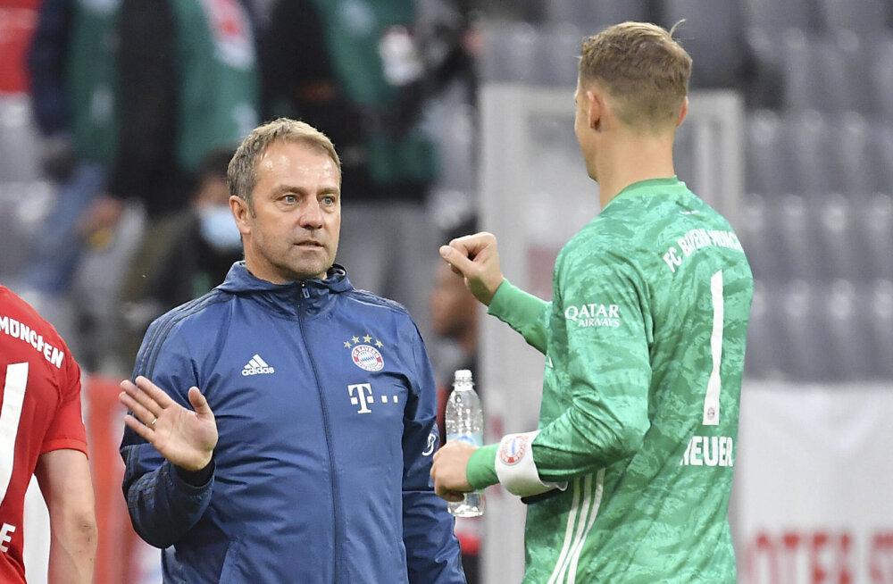 Müncheni Bayerni peatreener püstitas klubi viimase 55 aasta rekordi