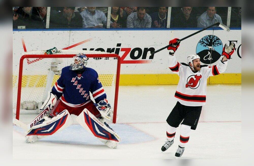 David Clarkson, NJ Devils - NY Rangers, jäähoki, NHL
