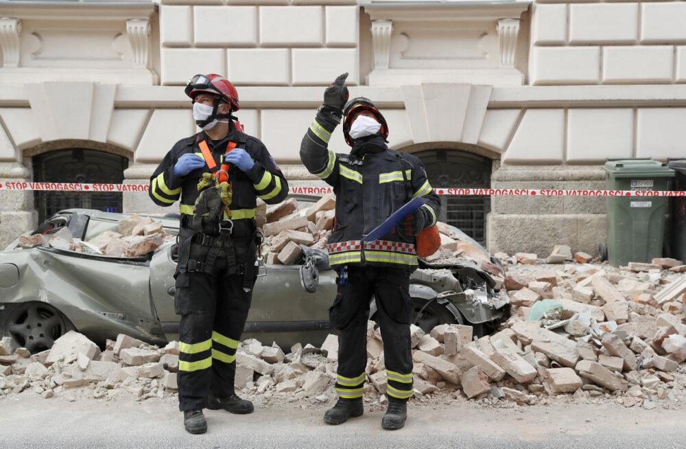 Horvaatias tuleb koroonakriisi kõrval tegelda maavärina tagajärgedega