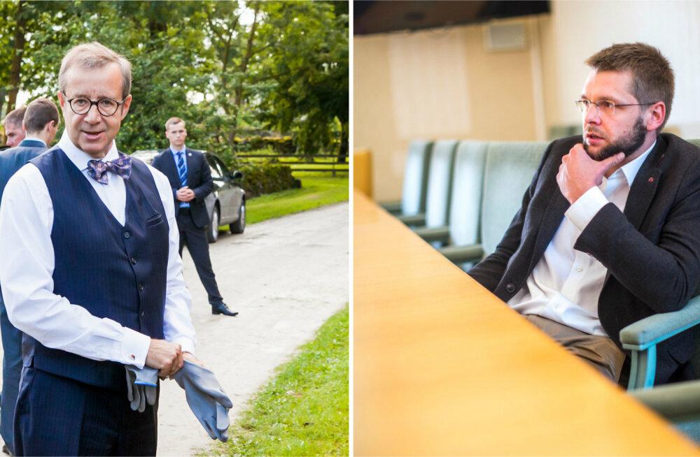 President Ilves andis vahetult enne SDE volikogu teada, et Ossinovski ei saa uut valitsust moodustada
