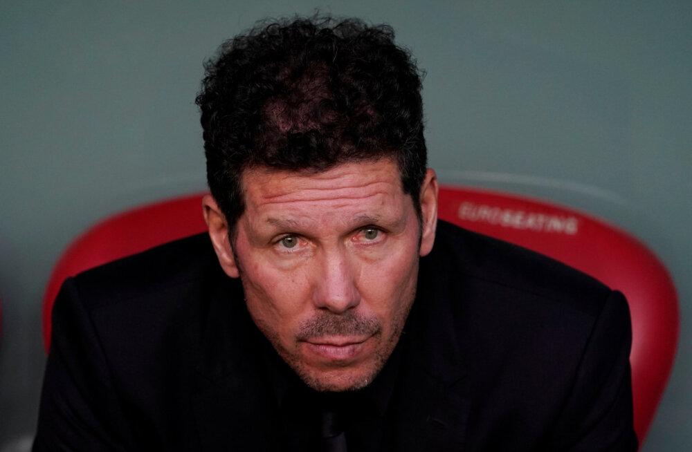 Diego Simeone kümnepunktilisest kaotusest Barcelonale: kavatseme võidelda viimase hingetõmbeni!