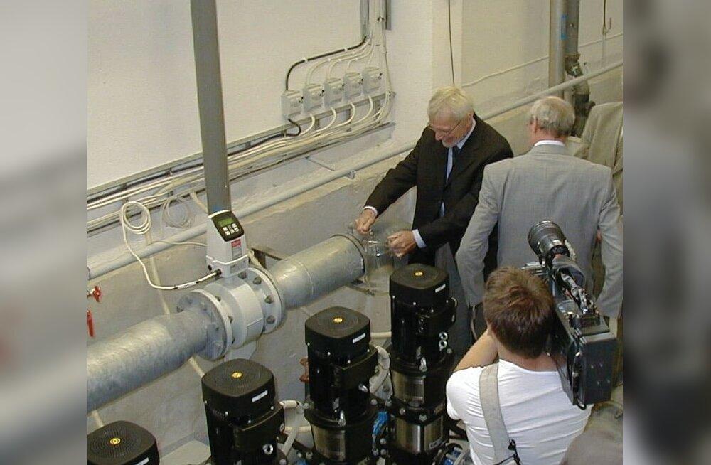 Veepuhastusjaama avamine 2.juulil 2003 (Foto: Keila Leht)