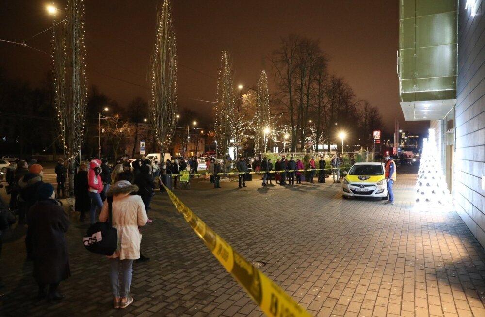 Торговый центр Kristiine эвакуировали из-за пожара