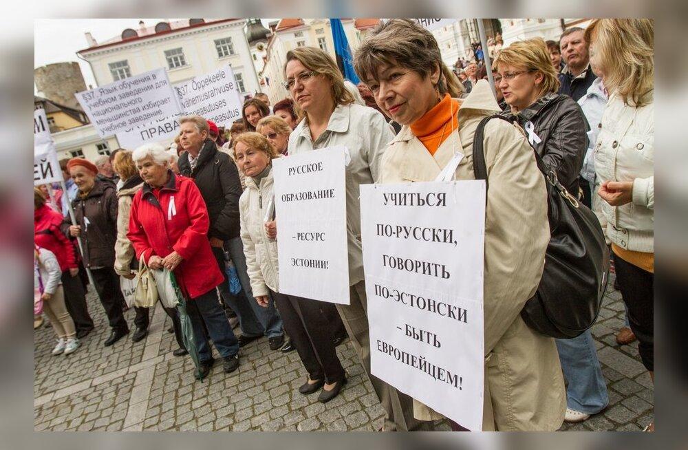 Meeleavaldus vene kooli kaitseks