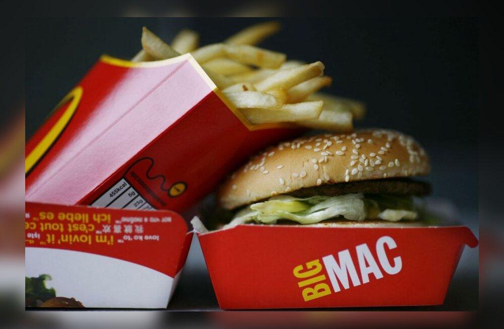 Kolm või enam burgerit nädalas suurendab lastel astmariski