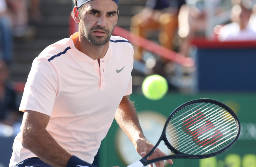 Federer loobus Cincinnati turniirist seljavigastuse tõttu