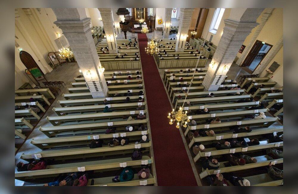 Jumalateenistus Jaani kirikus