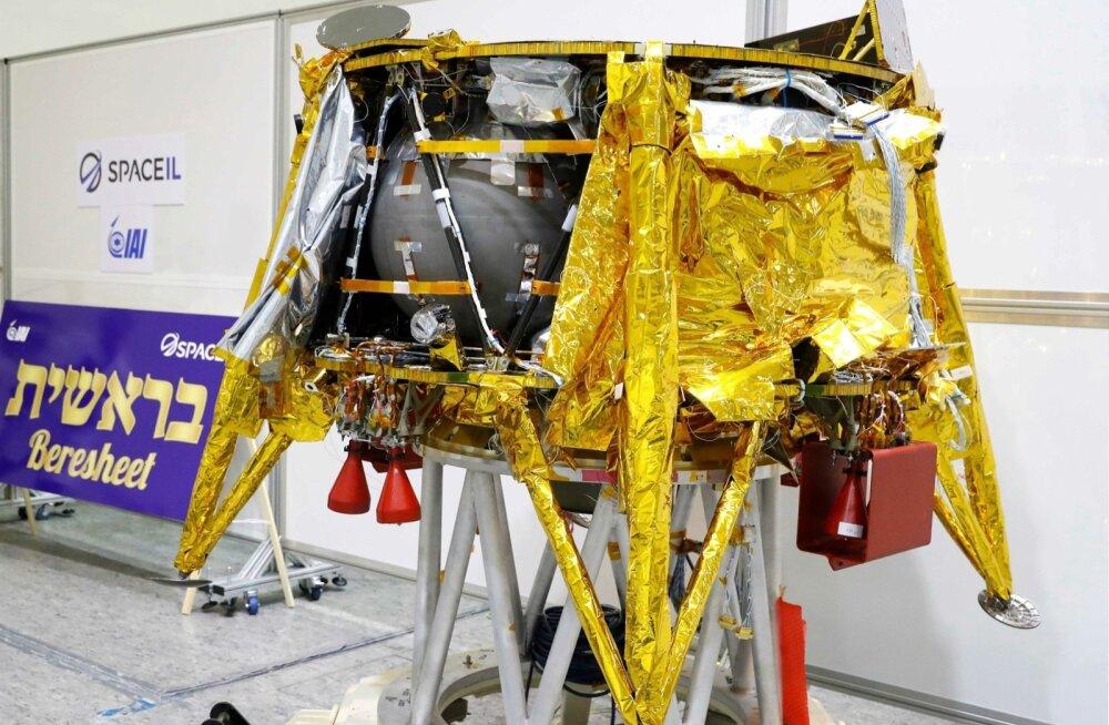SpaceX-i rakett viis kosmosesse Iisraeli esimese Kuu-maanduri Beresheet