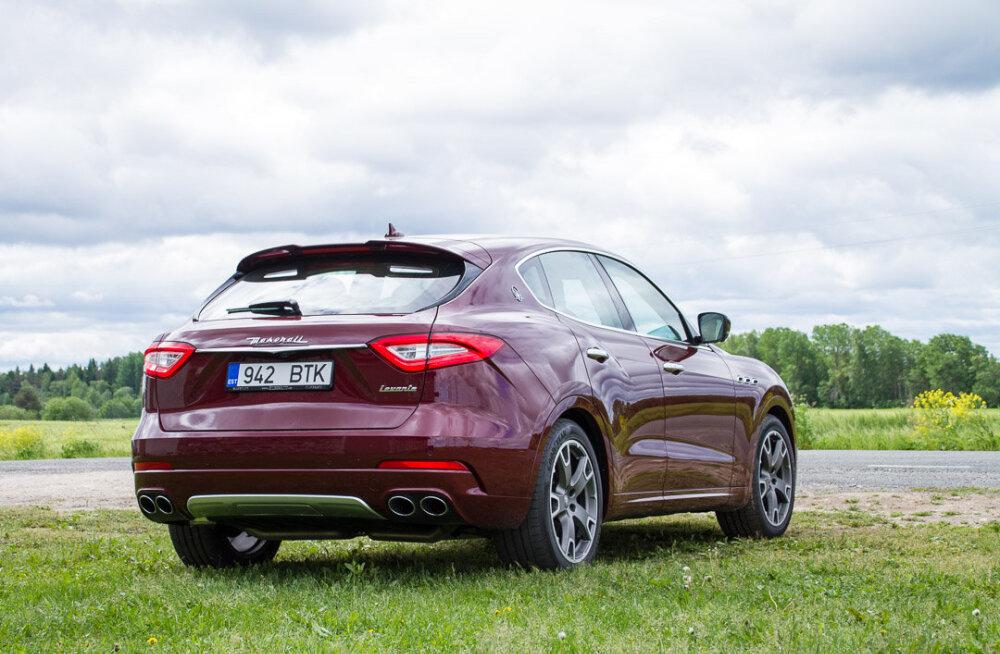 """Motorsi proovisõit: Maserati Levante - """"lustikummut"""" sisaldab kõike, mida tarvis"""