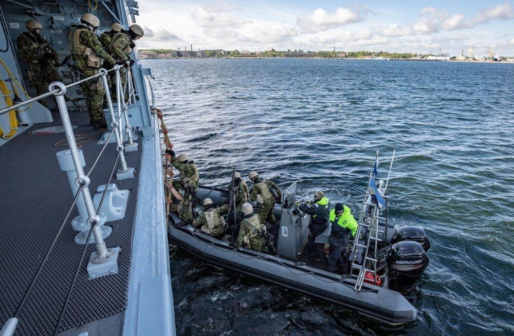 Mereväelased õppusel