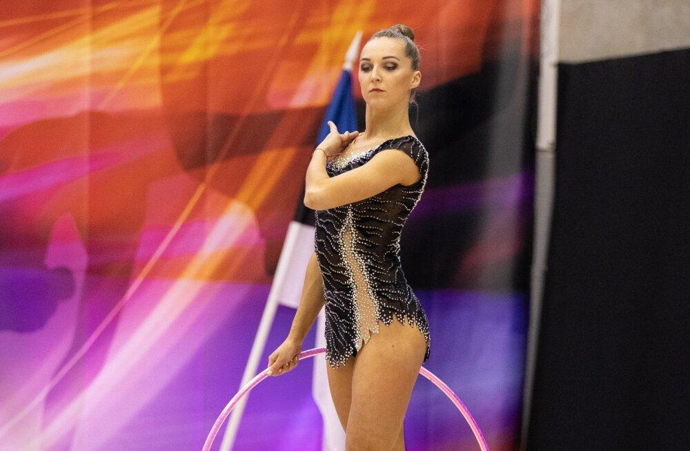 Bogdanova võitis Keleri ees iluvõimlemise mitmevõistluse meistritiitli 0,05 punktiga