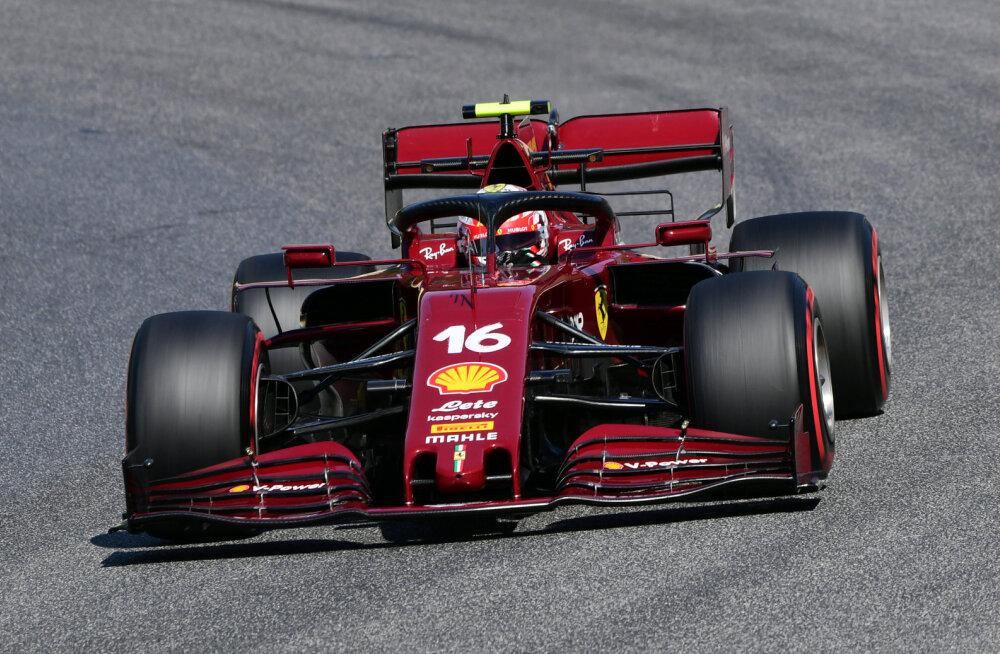 Leclerc leidis uues kuues Ferrariga hoo üles ja edestas vabatreeningul Hamiltoni