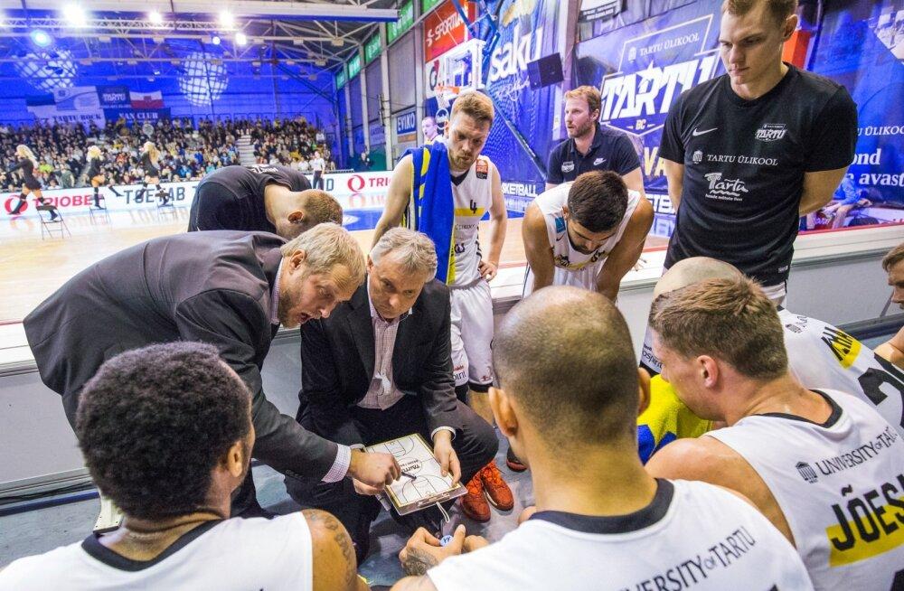 Tartu Ülikooli korvpallimeeskond võitis Balti liigas pronksi.