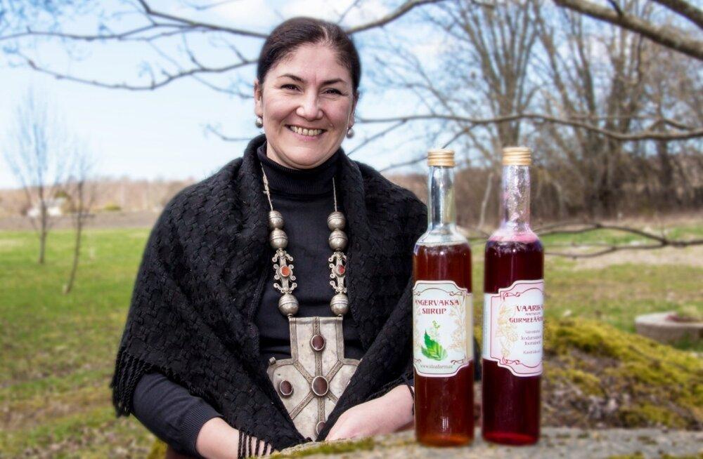 Maria Kaljuste viis konkursile oma anger-vaksa-siirupi  ja vaarika-äädika. Viimane pälvis pronks-märgi.