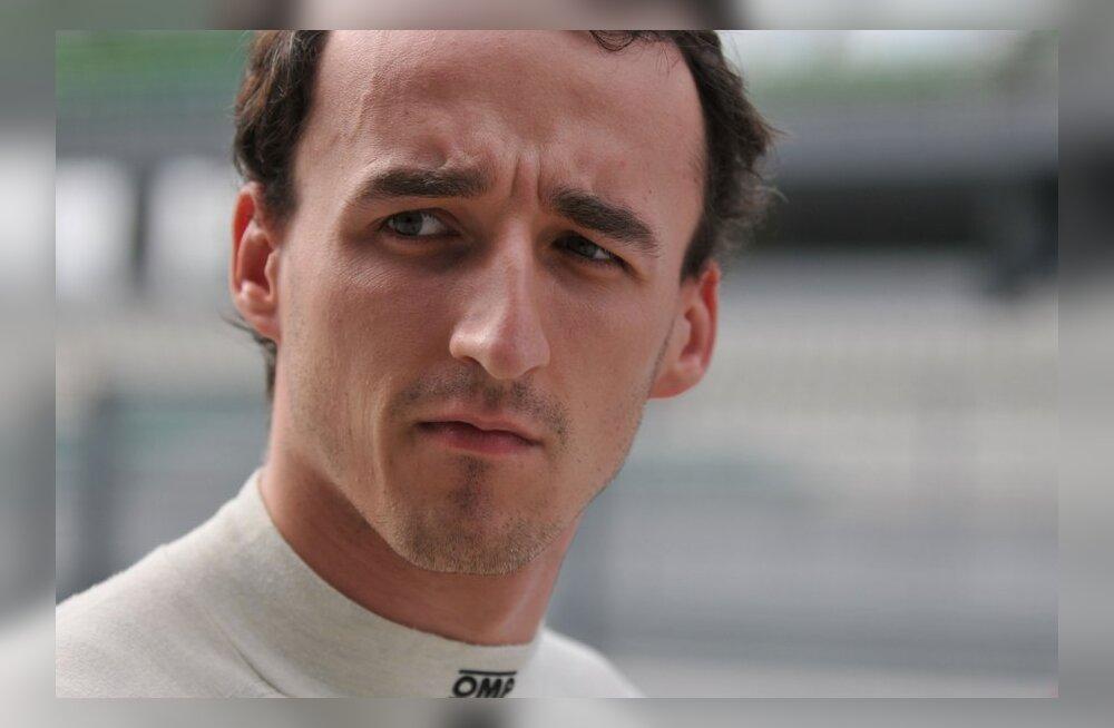 Robert Kubica, autosport