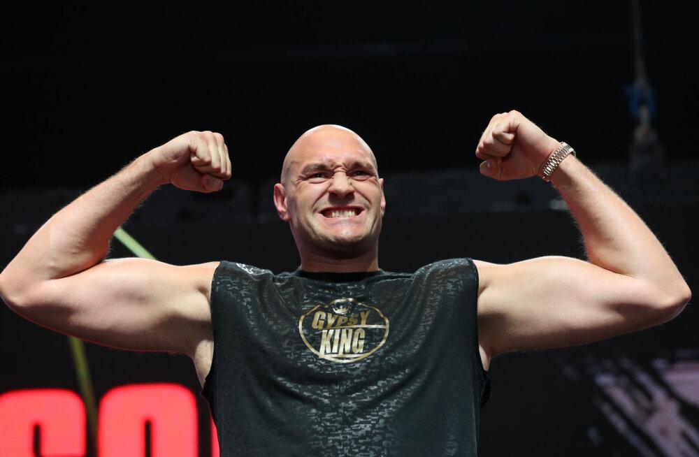 Tyson Fury avaldas ulmelise summa, mida Mike Tyson nõudis näidismatši eest