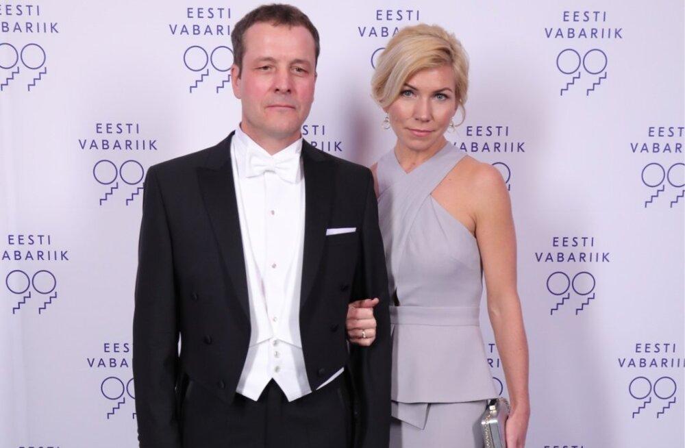 Lemeks AS  juhatuse esimees Jüri Külvik  ja pr Maigi Külvik