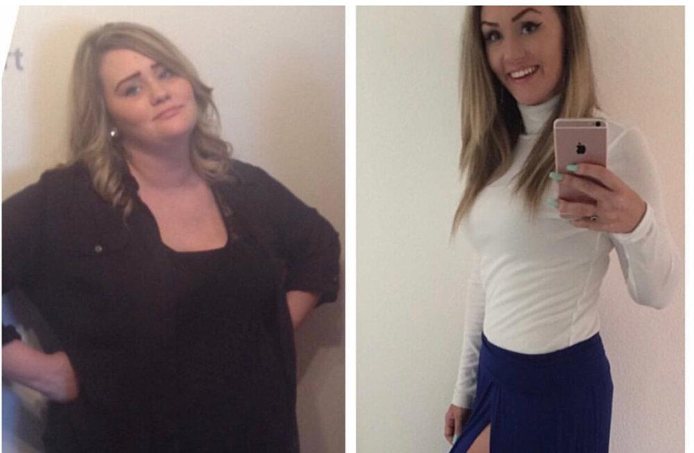 Innustav edulugu: kuut lihtsalt reeglit järgides kaotas noor ema 68 kg