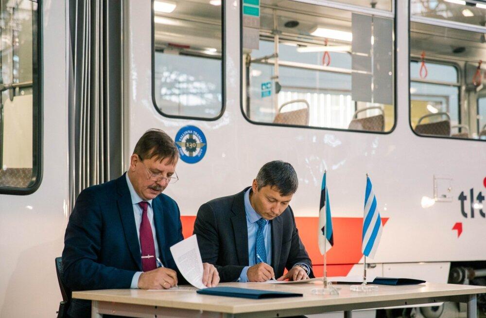 Tallinna regiooni liikuvuse koostöömemorandumi allkirjastamine