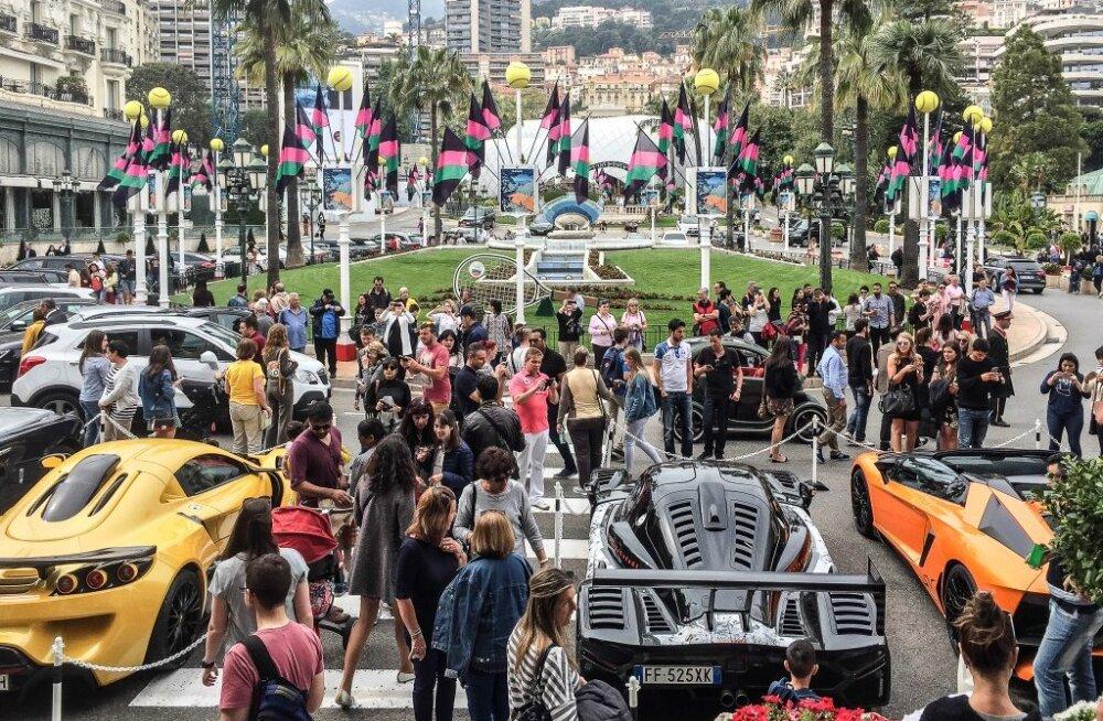 Monaco, autohullu Tõotatud Maa. Tarbida koos Nice'iga ja nakatada sõbrad ka