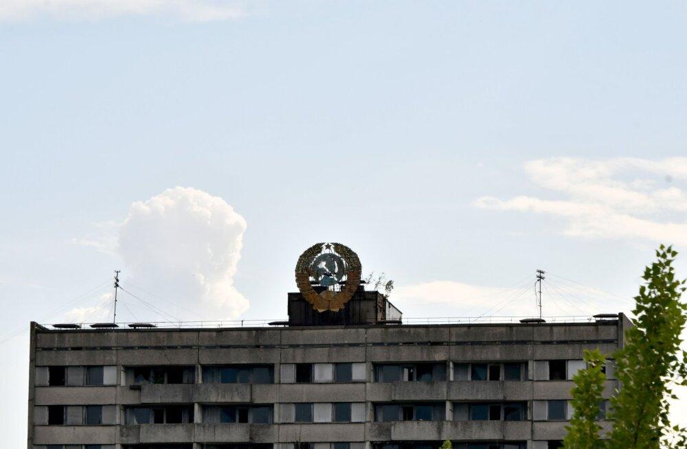 FOTOD | Põnev! Vaata, kuidas muudeti Leedu linn telesarja tarbeks hoopis Tšernobõliks