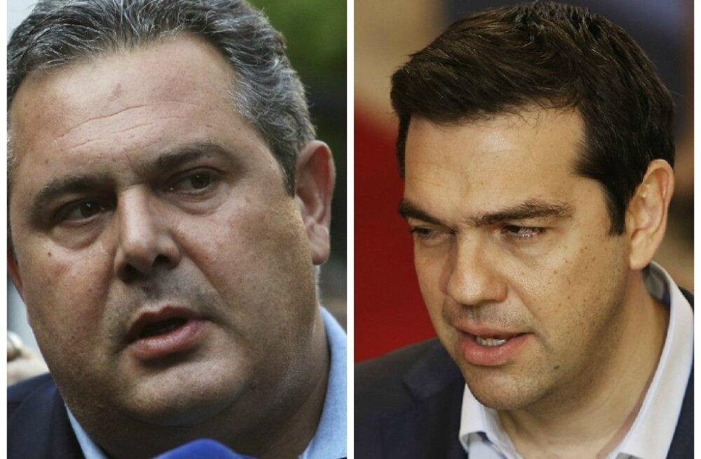 Kreeka peaministril seisab ees tõsine lahing euroalaga sõlmitud kokkuleppele toetuse saamiseks kodus
