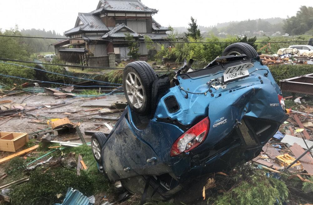 Эстонец в Японии: последствия тайфуна, неожиданное землетрясение и страх перед цунами