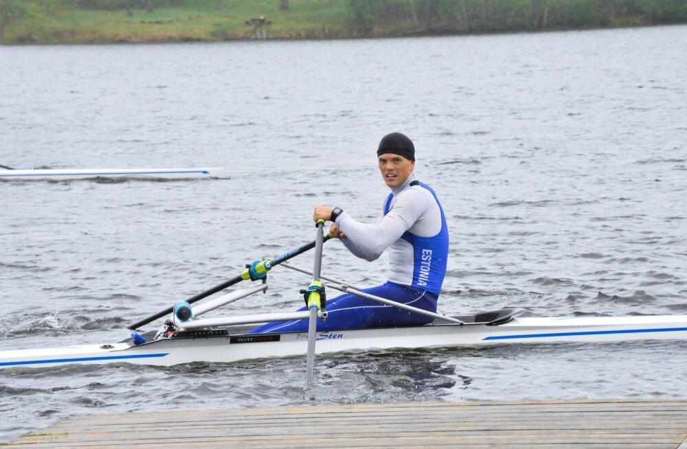 Sten-Erik Andersoniga tuleb kindlasti arvestada, ta oli katsevõistlusel parim nii ühe- kui ka kahepaadis.