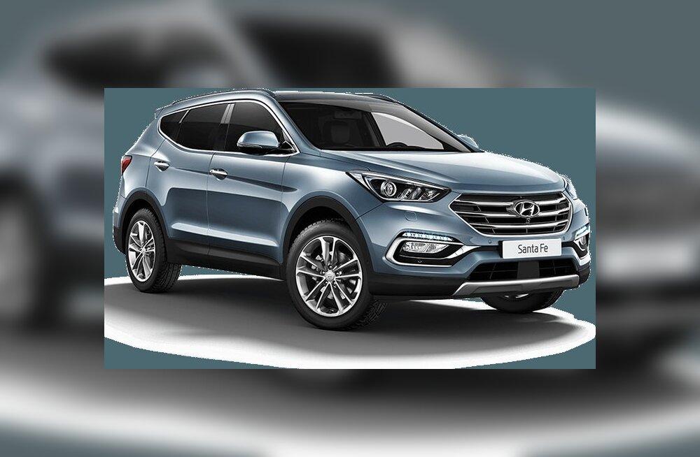 Ruumikas ja peaaegu soodne linnamaastur Hyundai Santa Fe