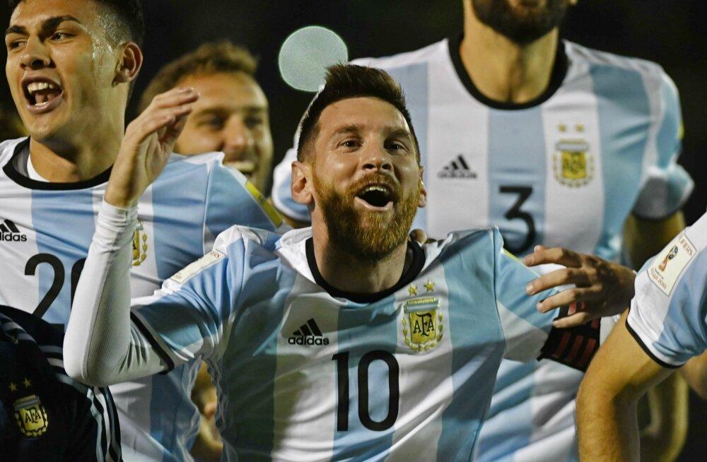 1795d8d3e17 Geniaalne Messi päästis Argentina au, USA hävis - Sport