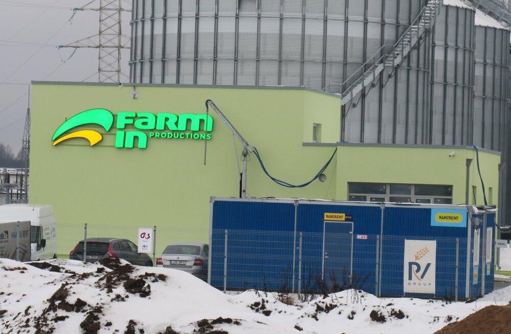 Farm Ini rapsitehase esialgsete plaanide järgi peaks neis punkrites olema juba tänavu koristatud rapsiseeme.
